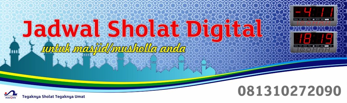 Jadwal Sholat Digital LP